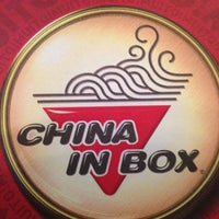 Photo taken at China in Box by João  Vinicius B. on 8/24/2012