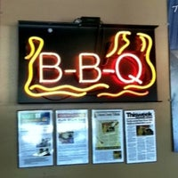 Photo taken at Rack Shack BBQ by Jane H. on 6/30/2012