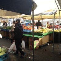 Photo taken at Haymarket Square Farmer's Market by Katie S. on 2/17/2012