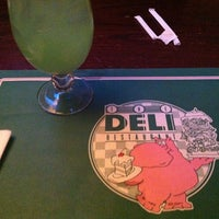 Photo taken at The Deli & Z-Bar by Jen R. on 4/14/2012