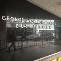 Photo taken at George Washington Bridge Bus Station by Elainie G. on 5/9/2012