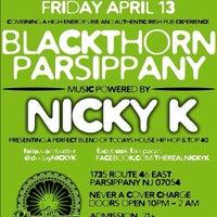 Photo taken at Blackthorn Irish Pub & Restaurant by NICKY K. on 4/10/2012