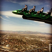 Photo taken at Xscream - Stratosphere by Paula A. on 3/27/2012