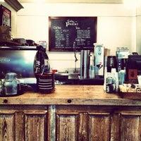 Photo taken at Cafe Pedlar by Cindy T. on 4/1/2012