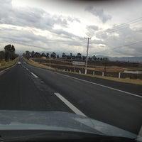 Photo taken at Caseta Toluca - Atlacomulco by Esteban M. on 2/2/2012