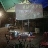 Photo taken at Sate Echam by Sipot S. on 2/15/2012
