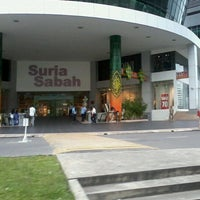 Photo taken at Suria Sabah Shopping Mall by Noni J. on 7/24/2012