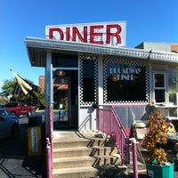 Photo taken at Broadway Diner by Kevin C. on 9/9/2012