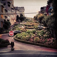 Photo taken at Lombard Street by Michael S. on 8/19/2012