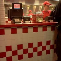 Photo taken at Five Guys by Christina W. on 4/7/2012