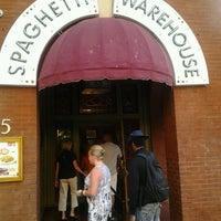 Photo taken at Spaghetti Warehouse by Nathalie on 7/31/2012