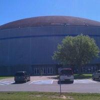 Photo taken at Burton Coliseum by Michelle H. on 3/24/2012