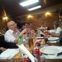 Photo taken at Baiah Brasa Restaurante by Adriana V. on 6/19/2012