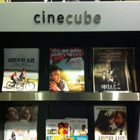 Photo taken at cinecube by Jeonghoon K. on 2/16/2012