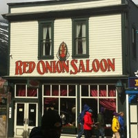 Photo taken at Red Onion Saloon by Neil S. on 7/10/2012