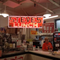 Photo taken at Steve's Lunch by Chris J. on 8/25/2012