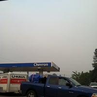Photo taken at Chevron by erin m. on 8/24/2012