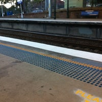 Photo taken at Croydon Station by Chris B. on 7/25/2012