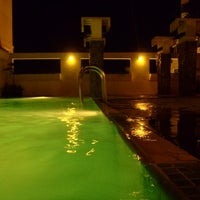 Photo taken at Ibis's Privat Pool by Alan W. on 9/10/2012