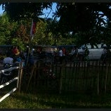 Photo taken at Padang Golf Yosonegoro by Mahathir M. on 8/26/2012