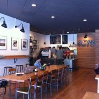 Photo taken at Acre Coffee by Tina-p on 5/31/2012