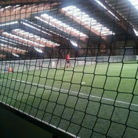 Photo taken at Foot Indoor des Barolles by William L. on 5/20/2012