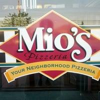Photo taken at Mio's Pizzeria by Eric B. on 6/25/2012