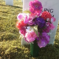 Photo taken at Hampton National Cemetery by Angela C. on 8/3/2012