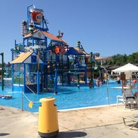 Photo taken at Fasouri Watermania Waterpark by Natalia F. on 8/31/2012