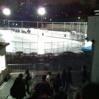Photo taken at Lasker Pool & Ice Rink by Anand P. on 3/3/2012