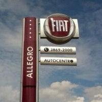 Photo taken at Fiat Allegro by Edson H. on 3/16/2012