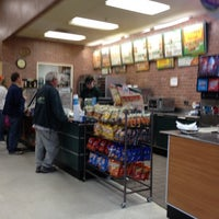 Photo taken at Subway by Dan L. on 3/4/2012