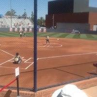 Photo taken at Rita Hillenbrand Memorial Stadium by Corey B. on 5/20/2012