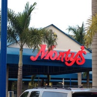 Photo taken at Monty's Fish and Stone Crab Restaurants by Ted D. on 8/1/2012
