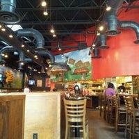 Photo taken at Mellow Mushroom by Natasha W. on 5/2/2012
