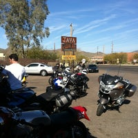 Photo taken at Cave Creek Coffee Company by Chris S. on 2/26/2012