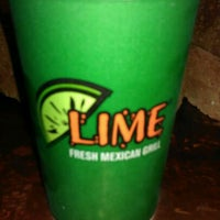 Photo taken at Lime Fresh Grill by Shanique J. on 3/30/2012