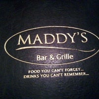 Photo taken at Maddy's Bar and Grille by Susan M. on 2/5/2012
