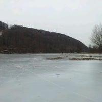 Photo taken at Jazero Bodovka by Michal on 2/4/2012