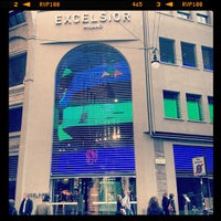 Photo taken at Excelsior Milano by Paolo G. on 3/16/2012