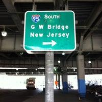 Photo taken at George Washington Bridge Bus Station by Chris B. on 7/24/2012