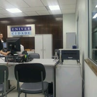 Photo taken at Secretaria UniverCidade by Juliana C. on 3/5/2012