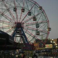 Photo taken at Deno's Wonder Wheel by Joseph L. on 6/20/2012
