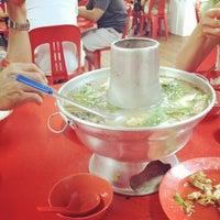 Photo taken at Nan Hwa Chong Fish-Head Steamboat Corner by Martin W. on 6/10/2012