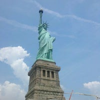 Photo taken at Liberty Island by Denise R. on 8/3/2012