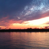 Photo taken at Evansville Riverfront by Kelly J. on 2/21/2012
