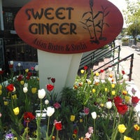 Photo taken at Sweet Ginger Asian Bistro & Sushi by Carrie P. on 4/29/2012