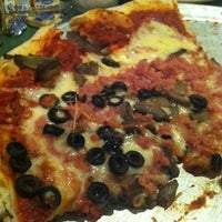 Photo taken at Frank's Roman Pizza by Vanessa J. on 7/30/2012