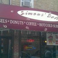 Photo taken at Simon's Deli & Bagels by Simon's D. on 3/18/2012