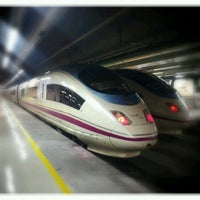 Photo taken at Barcelona Sants Railway Station by Iker R. on 2/20/2012